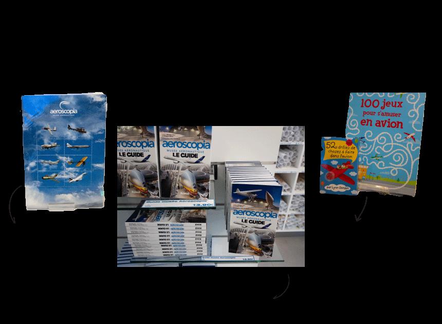 Qu'acheter à la boutique Aeroscopia de Toulouse ?