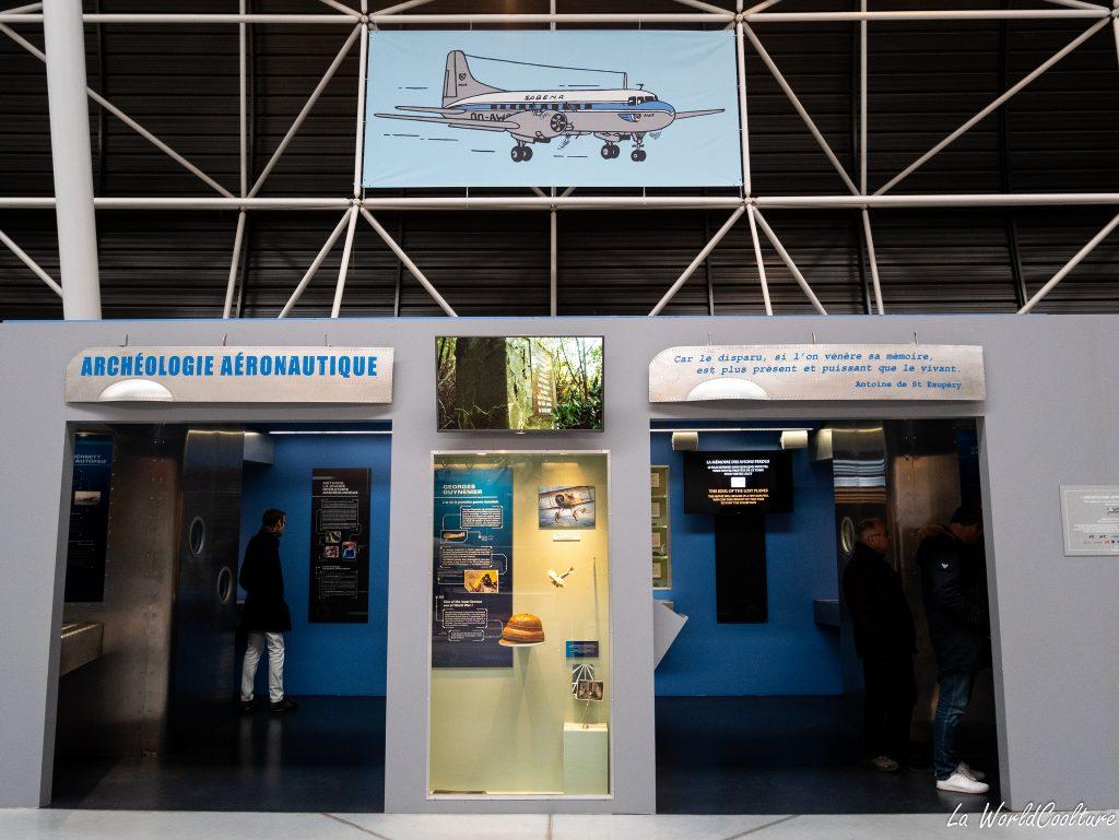 Visite musée Aeroscopia et archéologie aéronautique