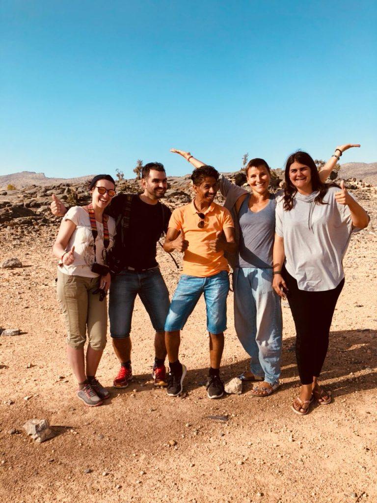 Voyager avec un guide à Oman