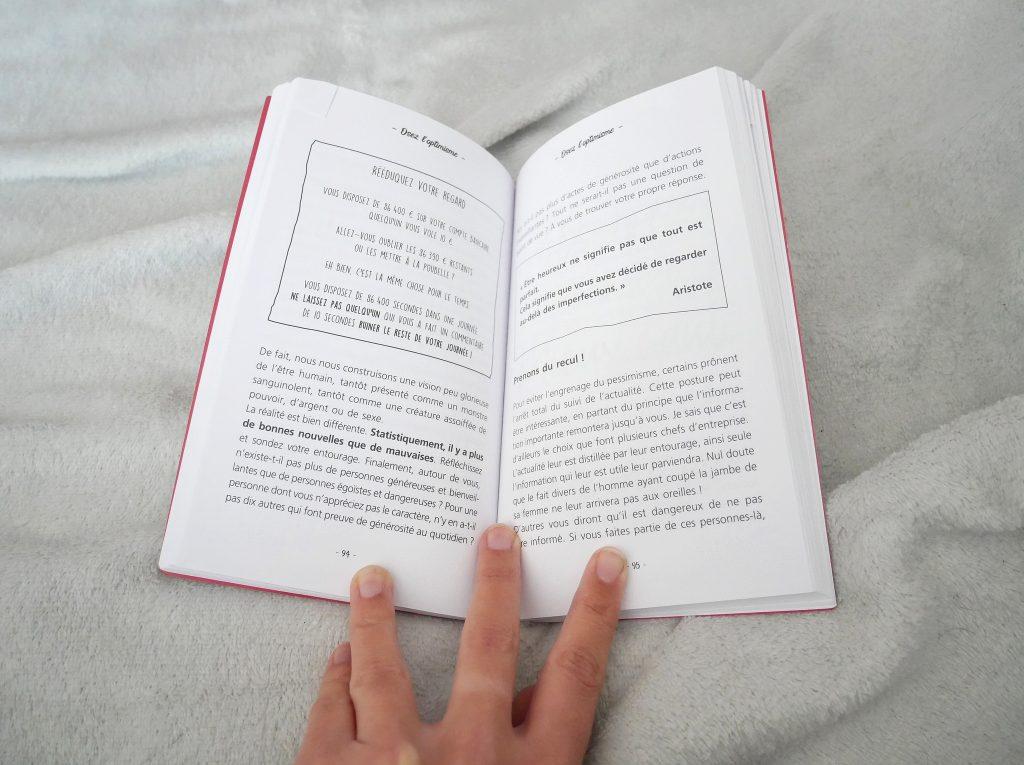 osez l'optimisme un livre pour être guidé au quotidien