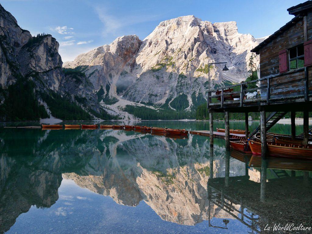 Les plus beaux lacs des Dolomites