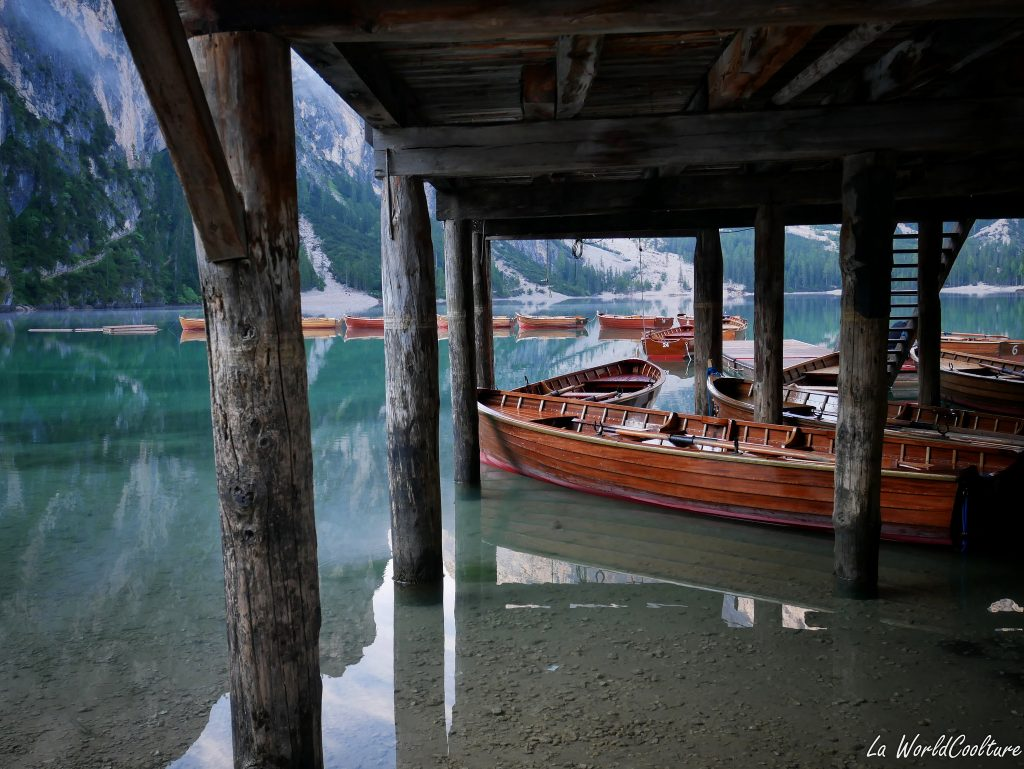 Lago di Braies spot Instagram