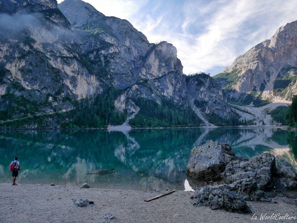 Lago di Braies plus beau lac des Dolomites