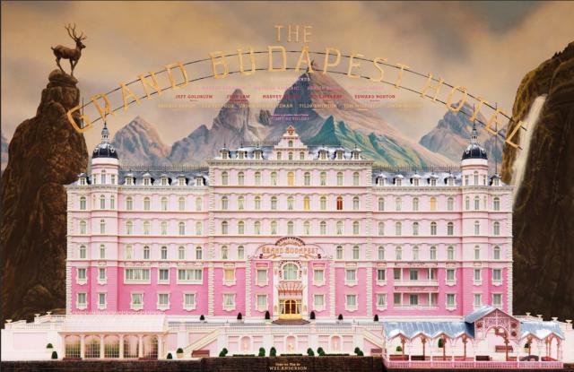 Ressemblance Lago di Misurina Dolomites et Grand Budapest Hotel