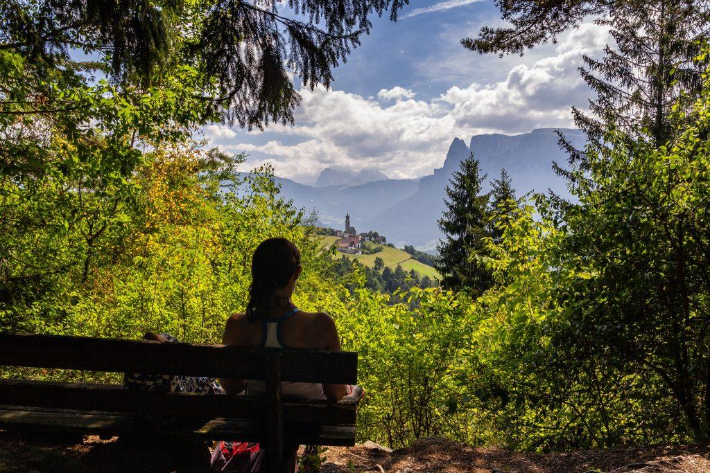 Les pyramides de Renon dans les Dolomites : sortie en famille