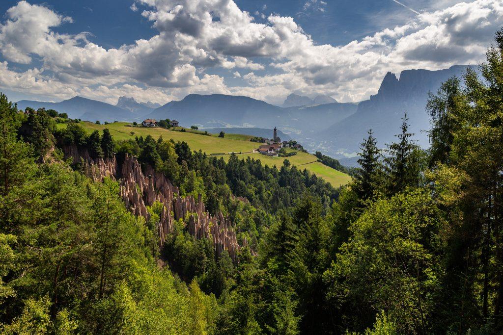 Balade en famille dans les Dolomites