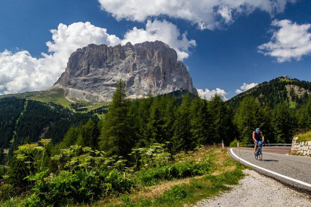 Pratiquer le cyclisme dans les Dolomites