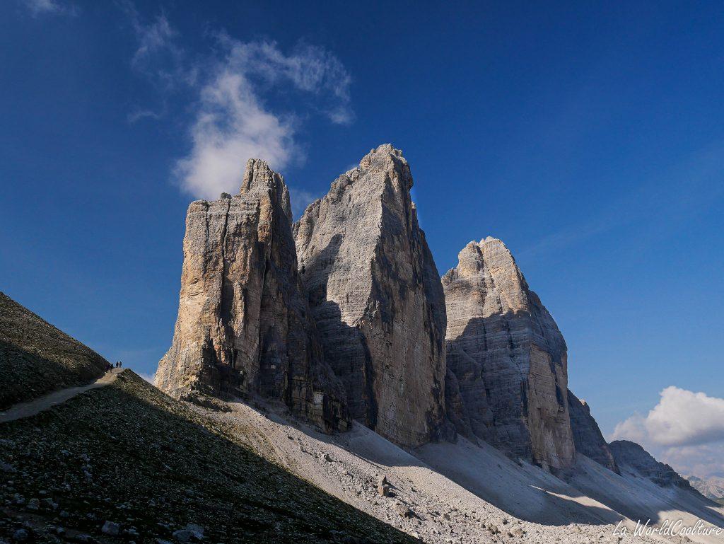 Un incontournable des Dolomites : les Tre Cime di Lavaredo