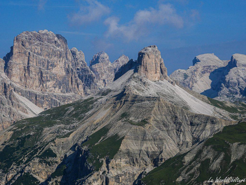 montagnes incontournables des Dolomites : Tre Cime