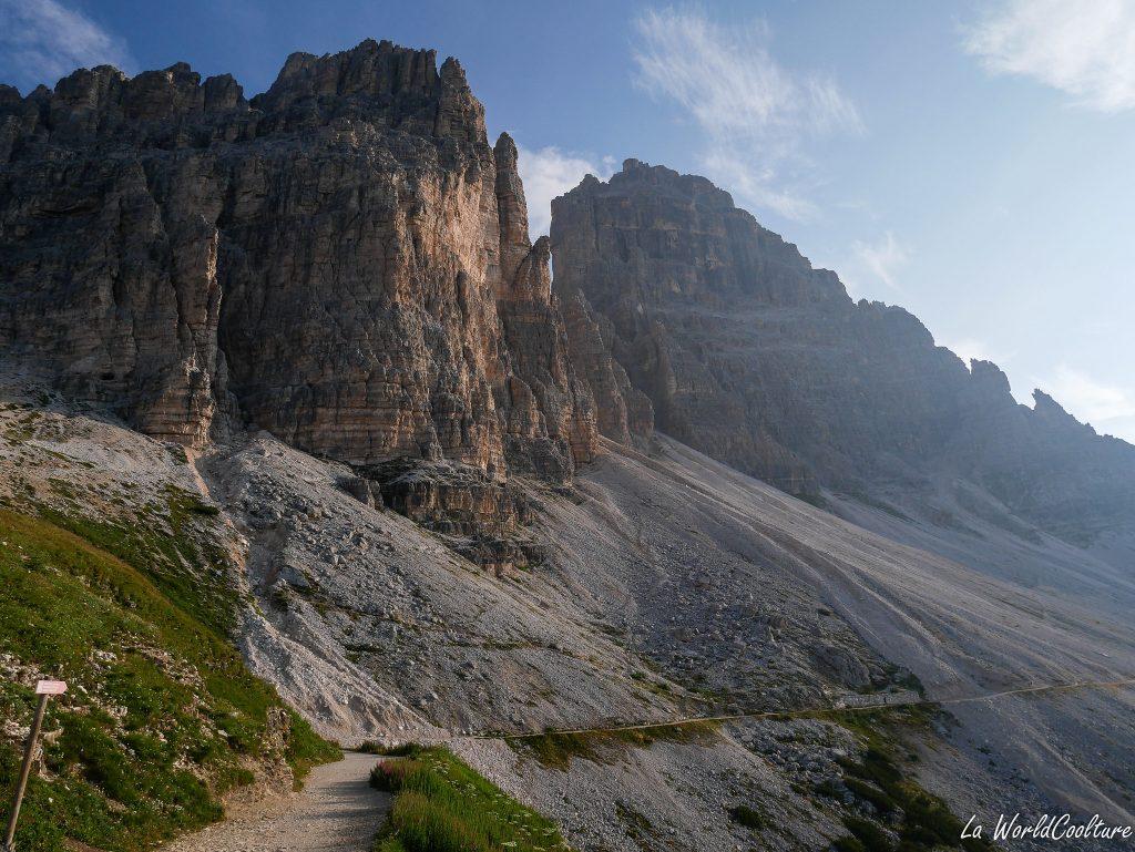 endroit incontournable des Dolomites : Tre Cime