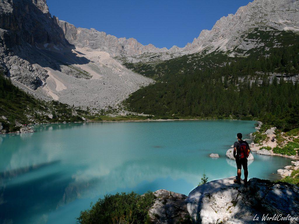 que voir dans les Dolomites à la journée : lac de Sorapis