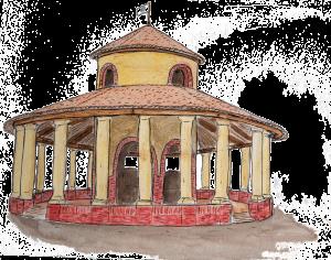 Auvillar village d'artistes en Occitanie