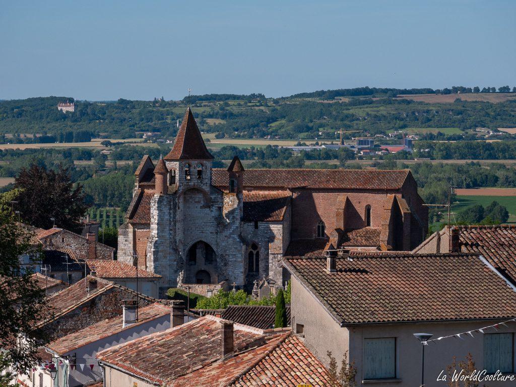 Auvillar étape pèlerins Saint-Jacques de Compostelle