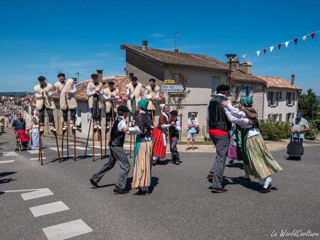 Auvillar village insolite du Tarn-et-Garonne en Occitanie