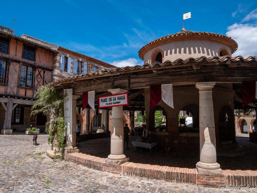 Auvillar village de charme en Tarn-et-Garonne