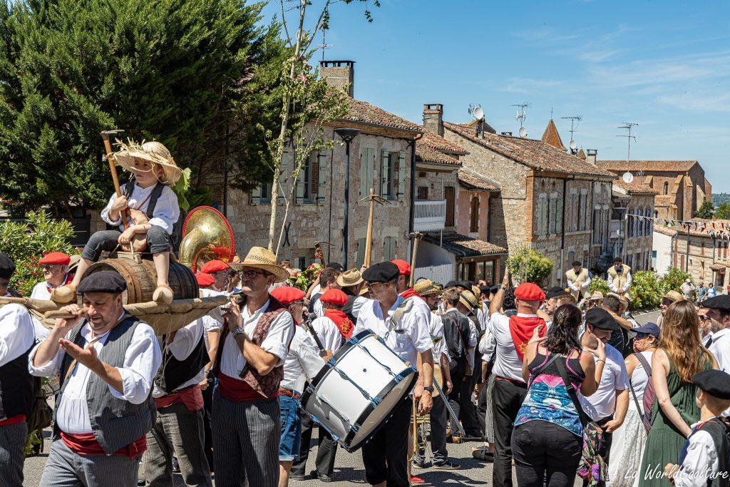 Tradition insolite en Occitanie à Auvillar