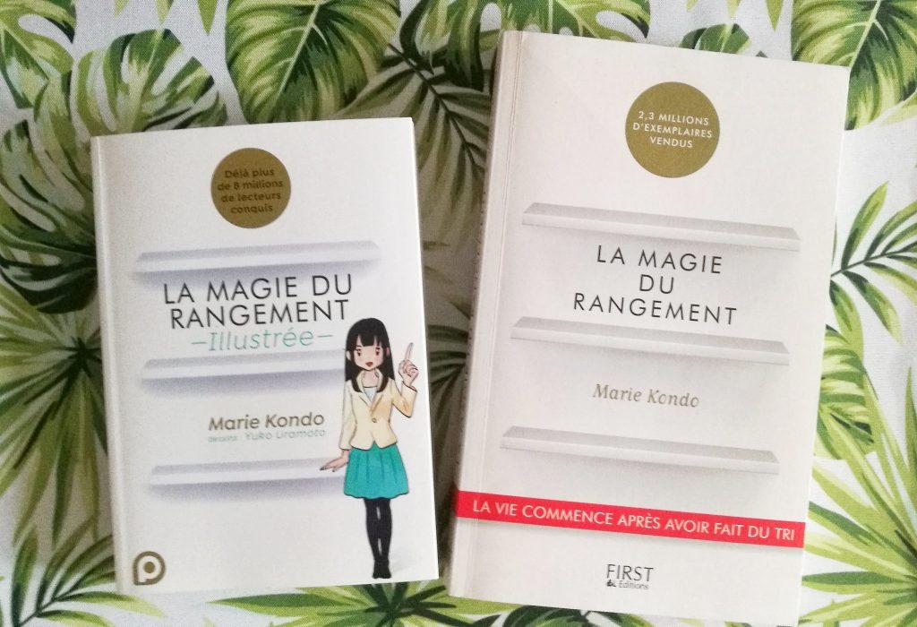 Avis consommateur sur les livres la magie du rangement de Marie Kondo