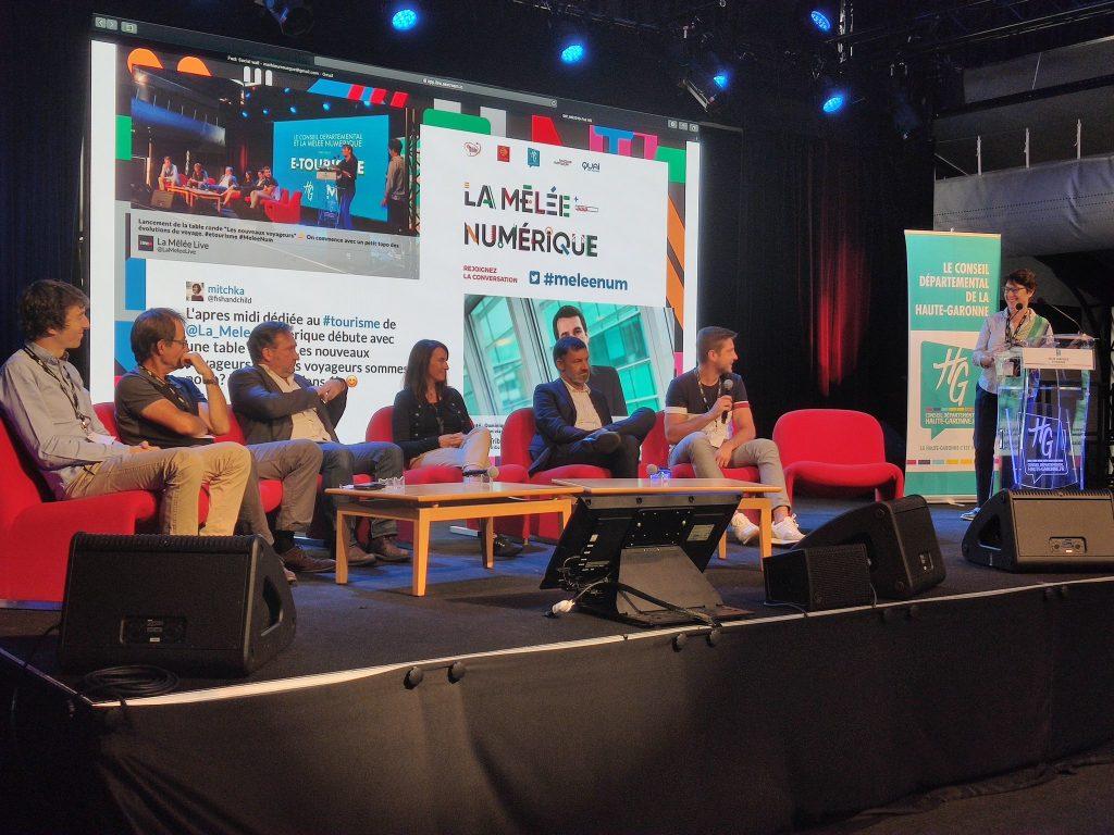 Conférence e-tourisme et nouveaux voyageurs au Conseil Départemental de Haute-Garonne