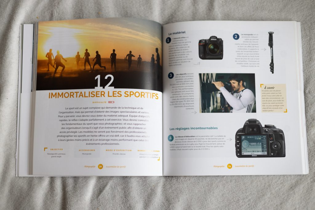 Livre pour aider les débutants en photo : Tuto Photo