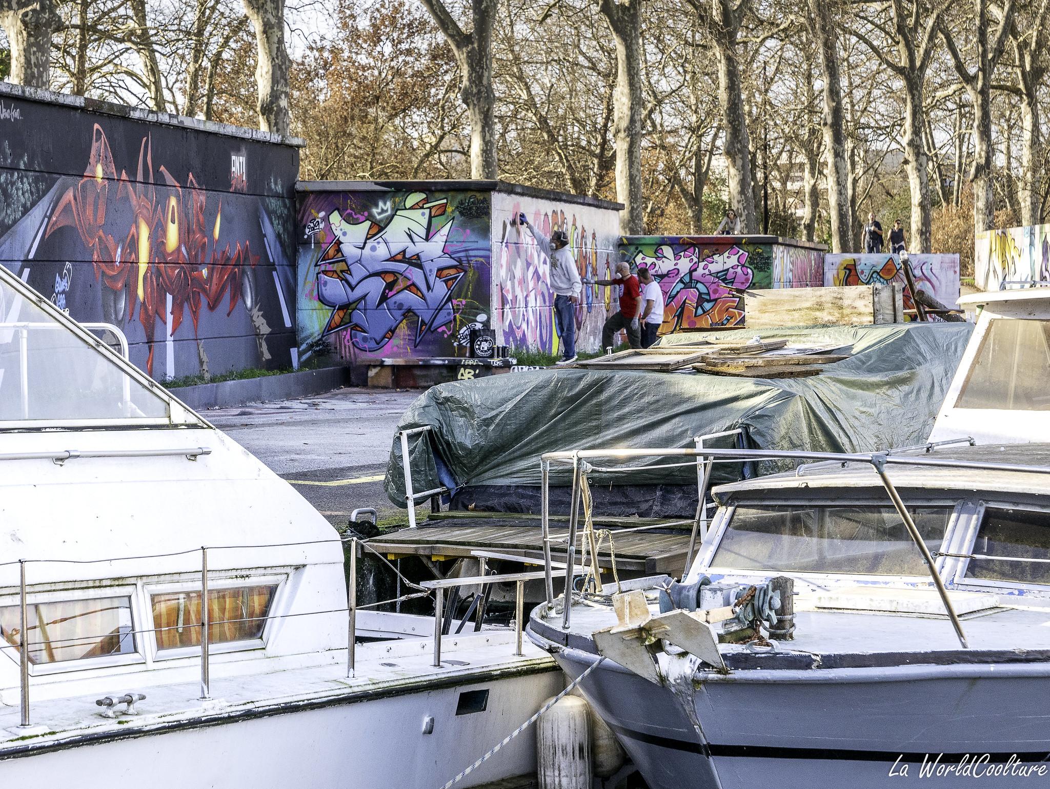 beaux spots de street-art autour de Toulouse