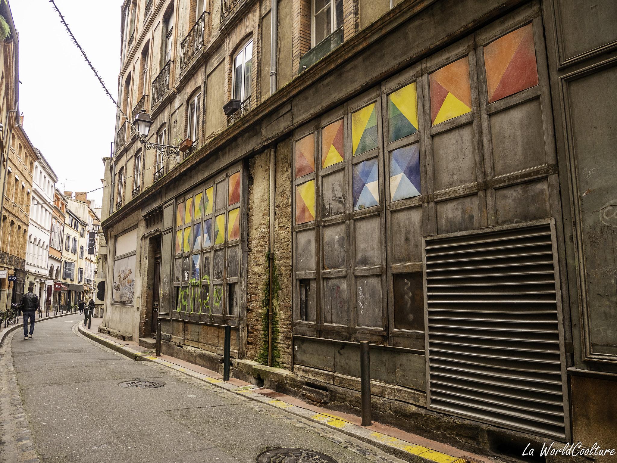Balade street-art et graffitis dans Toulouse
