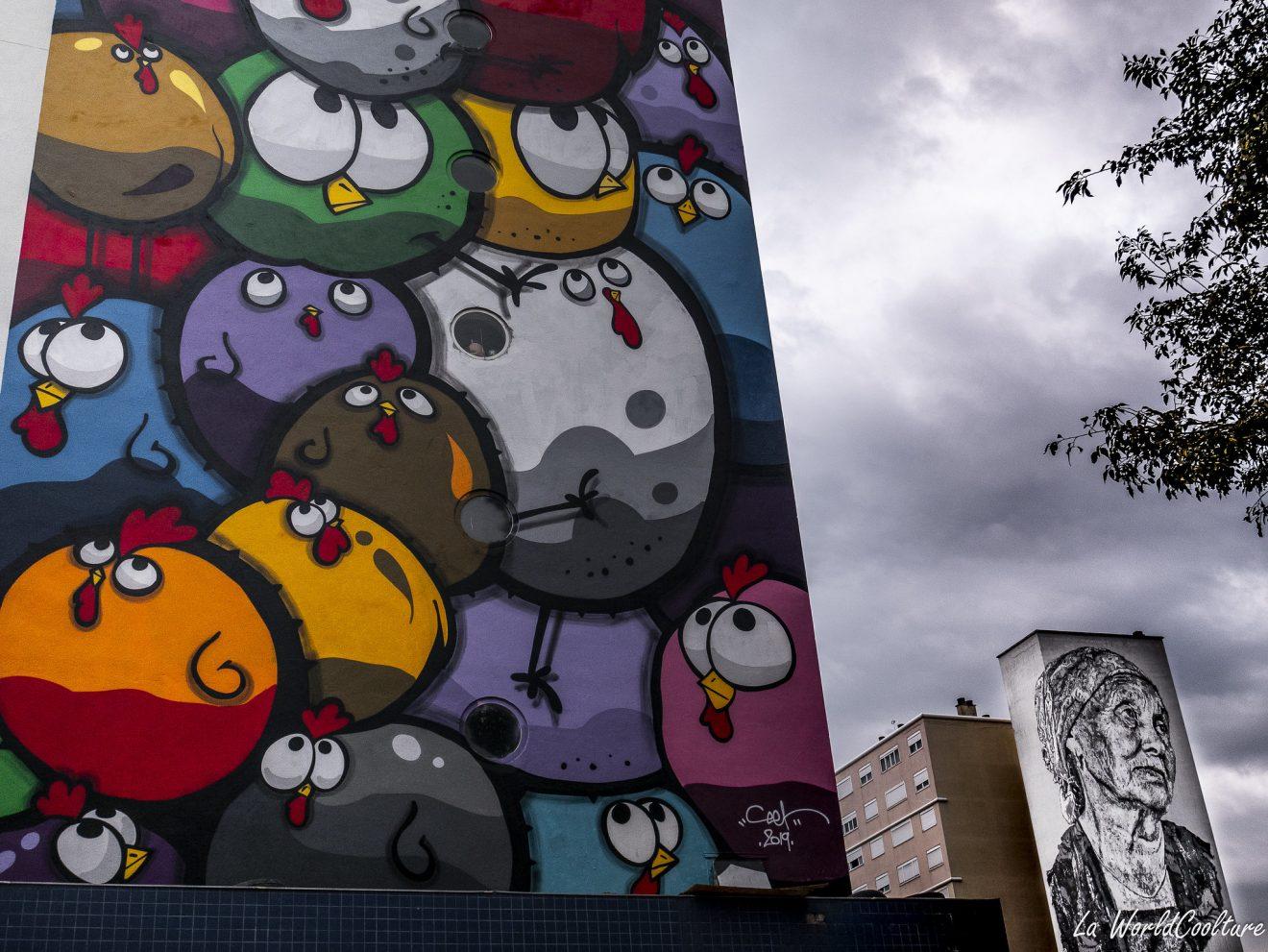 Graffitis à Empalot Toulouse