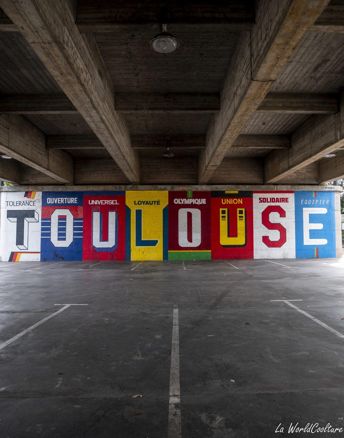 Où sont les plus beaux graffitis de Toulouse ?