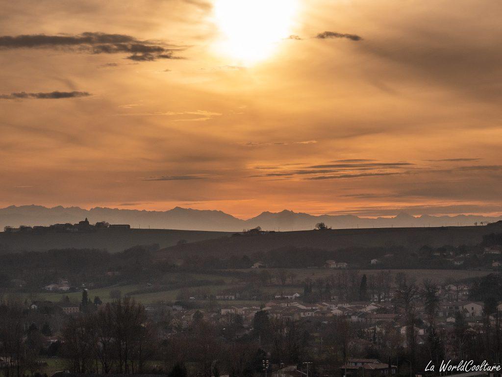 beau point de vue Saint-Sulpice-sur-Lèze