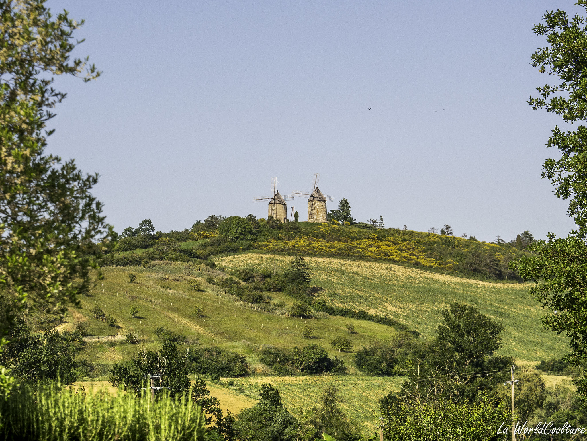 beaux moulins de la Garde en Ariège à Lézat-sur-Lèze