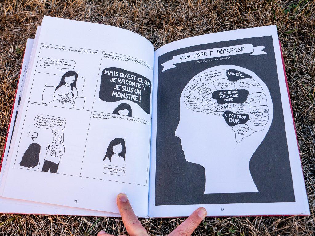 Chere Scarlet lecture sur la depression post partum des mères