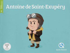 littérature jeunesse pour découvrir la vie de Saint Exupéry aéropostale
