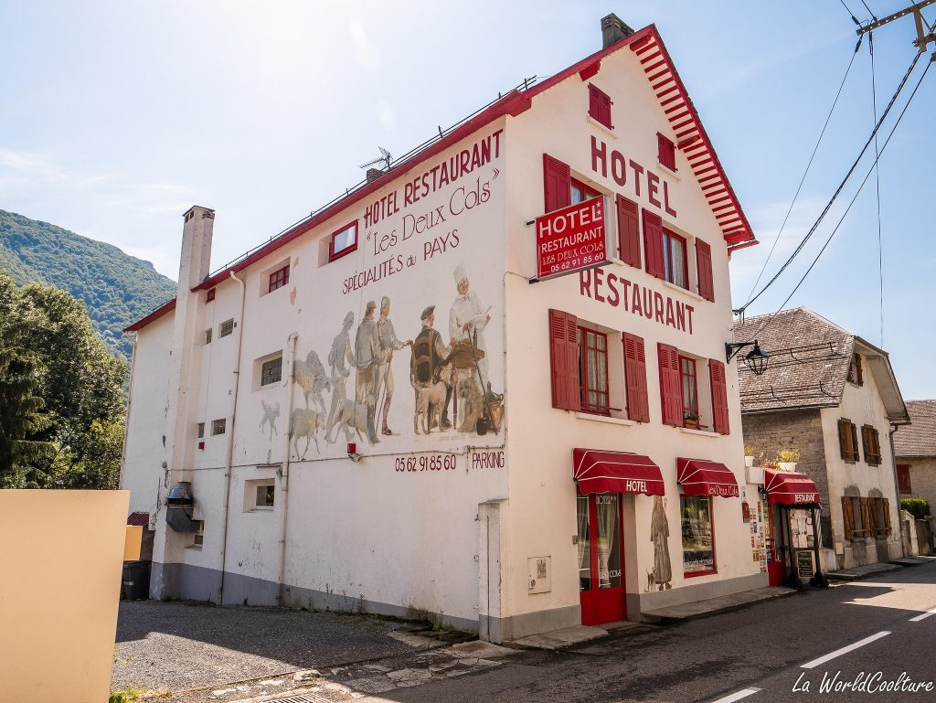 hotel des 2 cols Hautes-Pyrénées