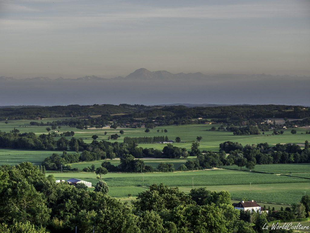 Beau point de vue Hautes Pyrenees
