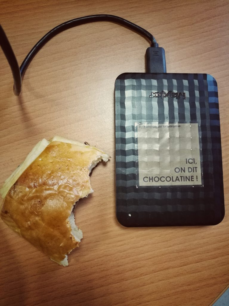 toulouse et chocolatine