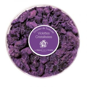 gourmandise à la violette comme cadeau toulousain